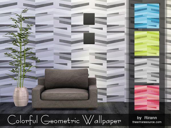Sims 4 CC's - The Best: Walls & Floors by Rirann