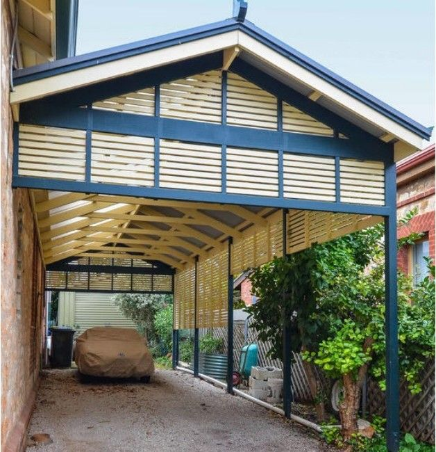 Decorating Your Own Pergola Style Carport | Outdoor ...
