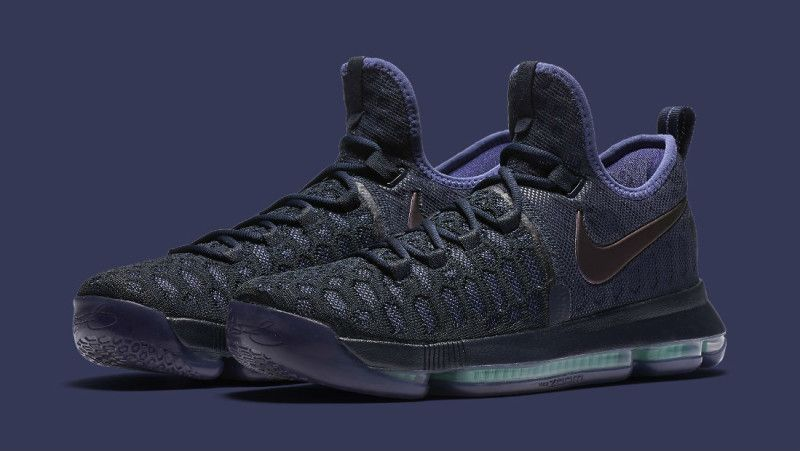 Repeler Mariscos Disparates  Nike KD 9 Obsidian/Dark Purple Dust-Black 843392-450 | Sole Collector | Nike,  Kd 9, Kevin durant shoes