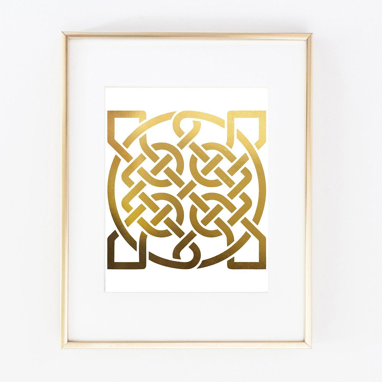 Colorful Celtic Knot Wall Art Inspiration - All About Wallart ...