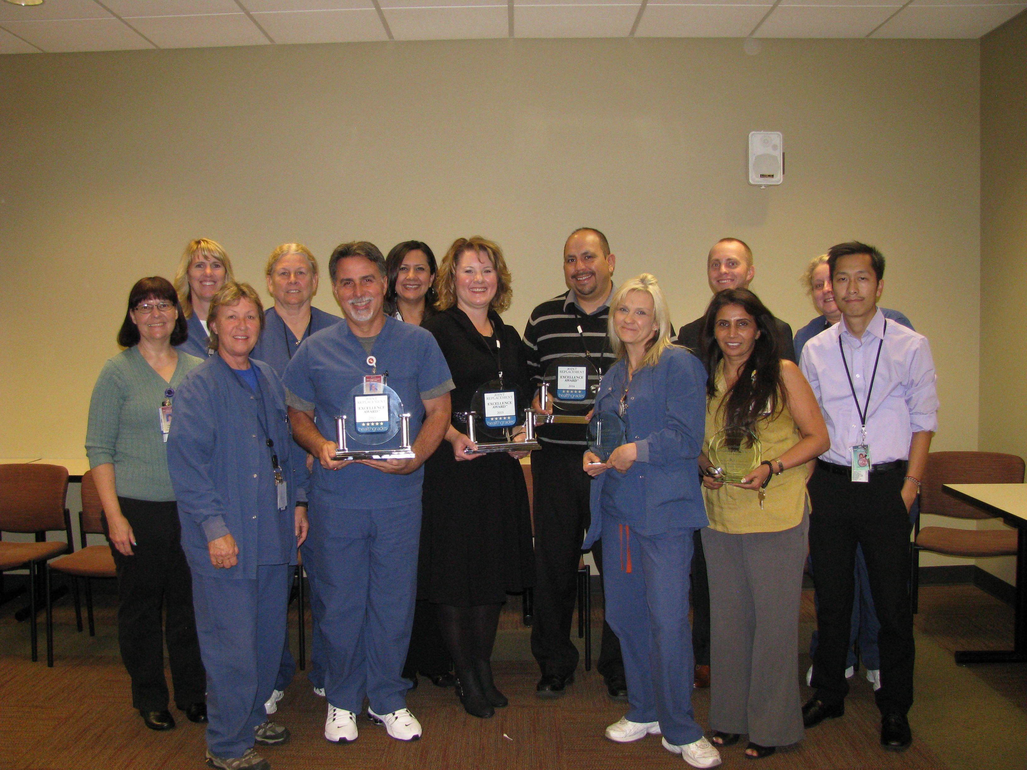 Healthgrades presented Sutter Surgical Hospital North