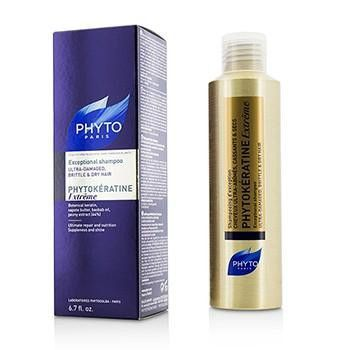 Phytokeratine Extreme Exceptional Shampoo (Ultra-Damaged, Brittle & Dry Hair) - 200ml-6.7oz