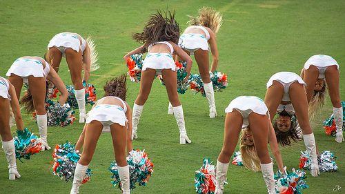 Cheerleaders showing their panties, sexy teens slutload