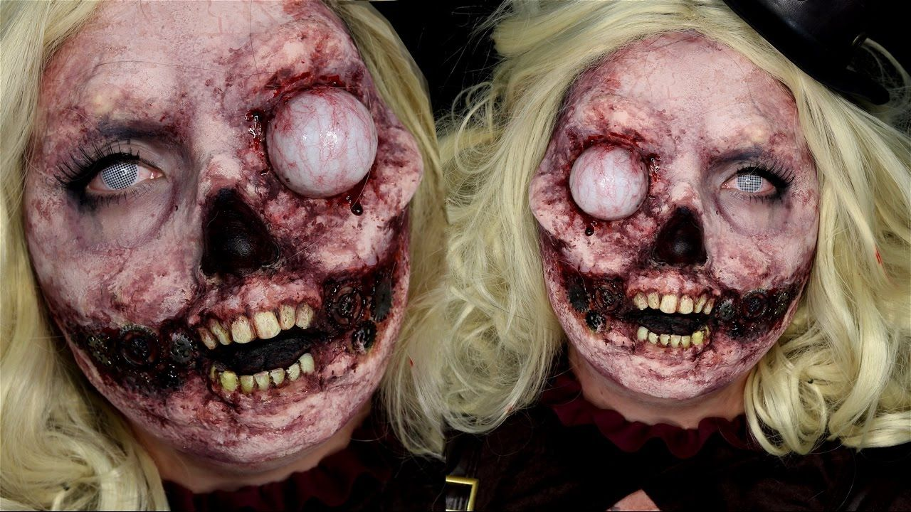 Steampunk plus zombie yup in this halloween makeup tutorial i will steampunk plus zombie yup in this halloween makeup tutorial i will show you how to create this special fx zombie do it yourself and make realistic teeth solutioingenieria Image collections