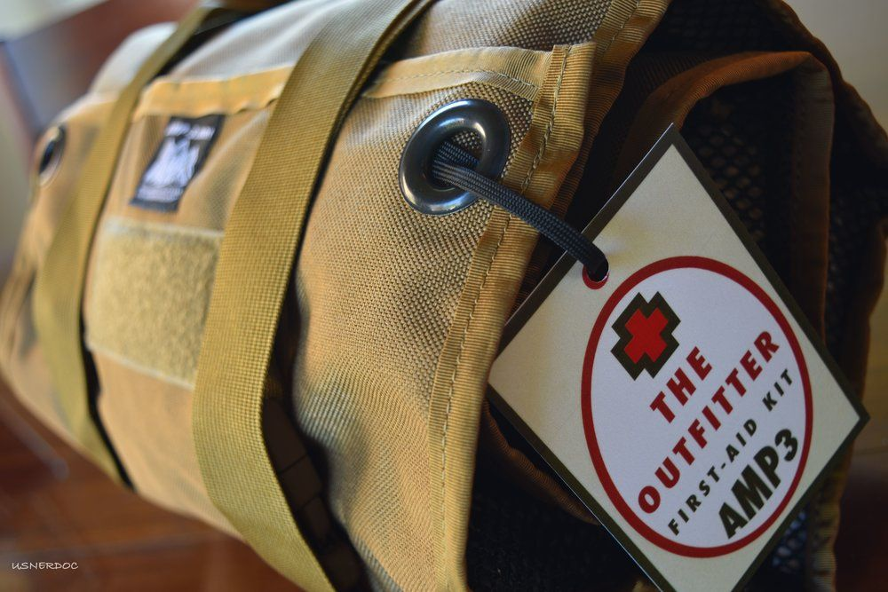 Amp3 Outfitter First aid kit, Kit, First aid