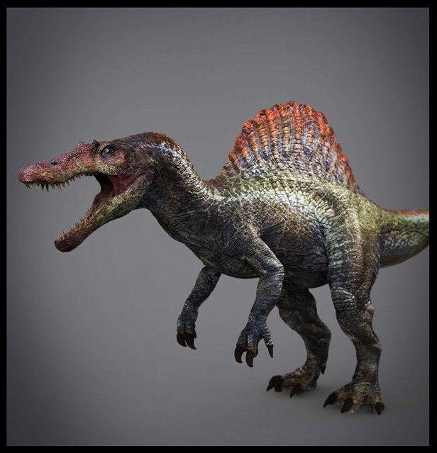 Pin by akash chopra on pre historics jurassic park spinosaurus jurassic park world - Spinosaurus jurassic park ...