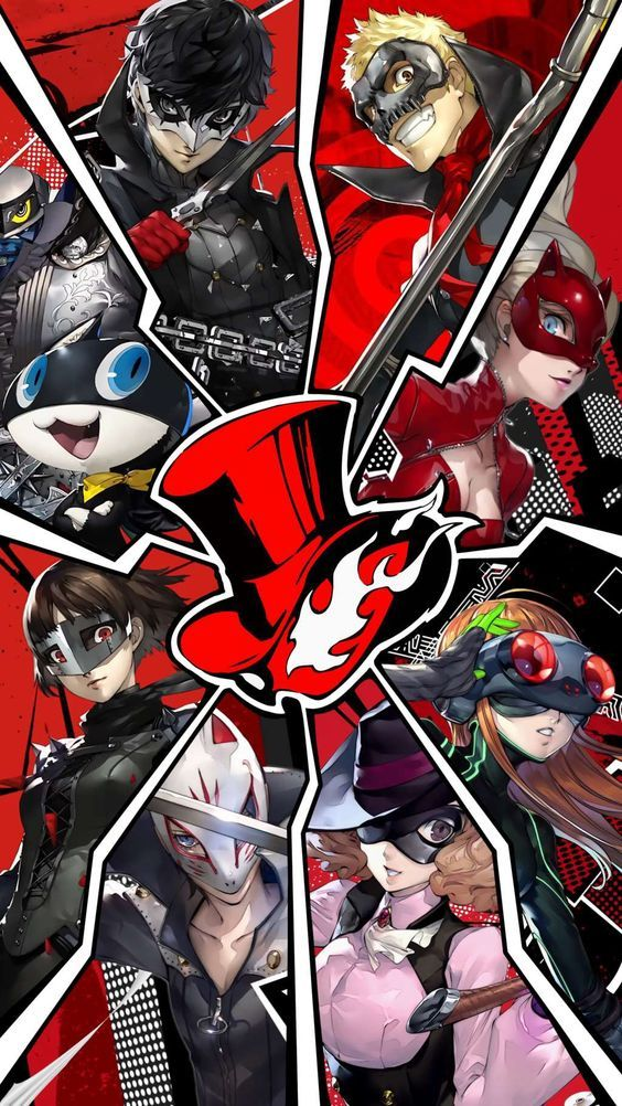 Os personagens de Persona 5 The Animation Persona, Anime