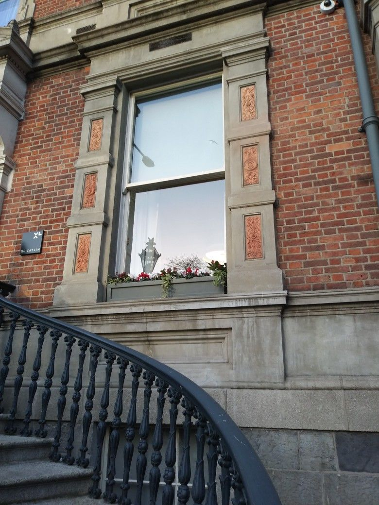 window finishes Dublin Ireland.