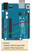 Oscilloscope Arduino-Processing #logicboard