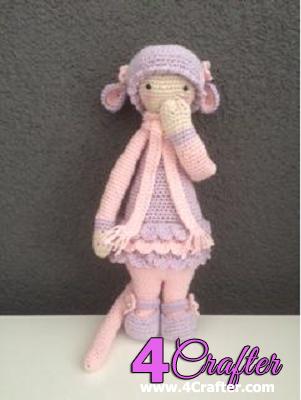 Lalylala Rat Girl Doll.png | Häkeln | Pinterest | Puppen, kostenlose ...
