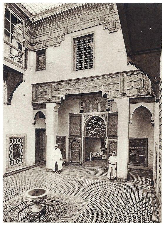 Le jardin et la maison arabes au maroc de jean gallotti - A la maison en arabe ...
