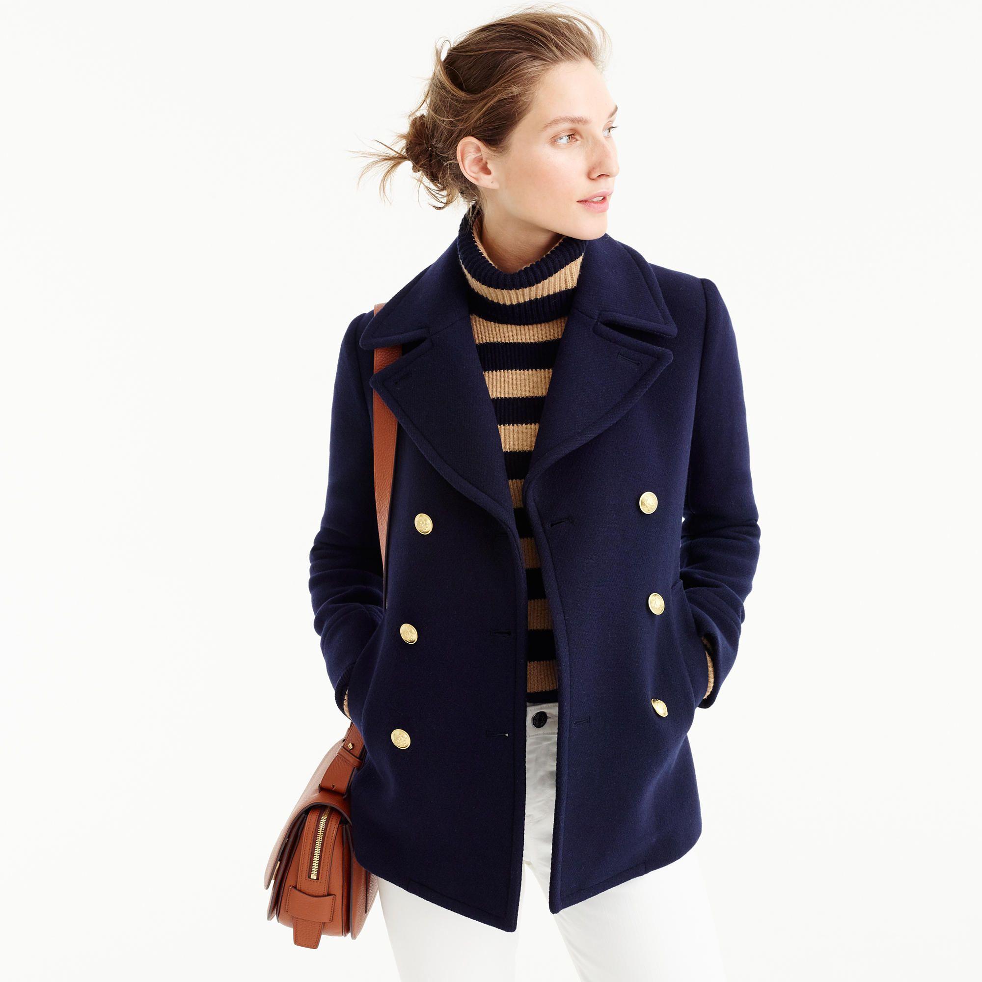Majesty Peacoat : Women's Coats & Jackets | J.Crew | 2018 Spring ...