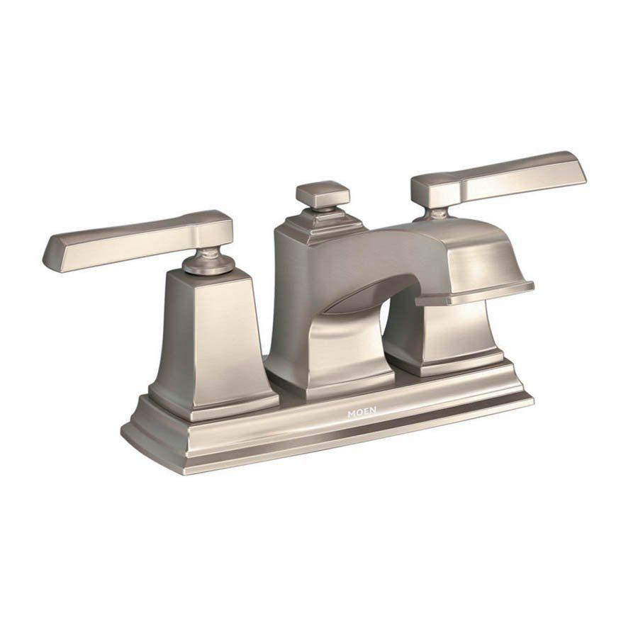 Shop Moen 84800 Boardwalk WaterSense Bathroom Sink Faucet at Lowe\'s ...