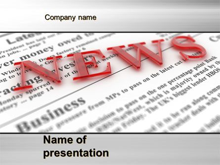 Httppptstarpowerpointtemplatebusiness News Business