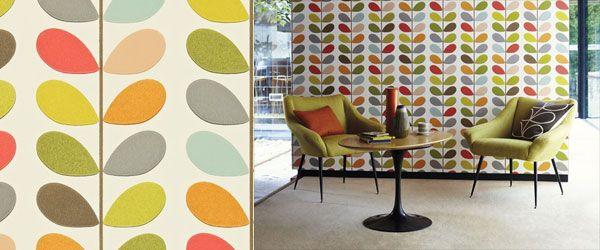 Orla Kiely Harlequin Home Decorating Ideas Interior Design