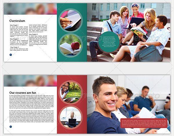 brosur sekolah college prospectus contoh brosur sekolah