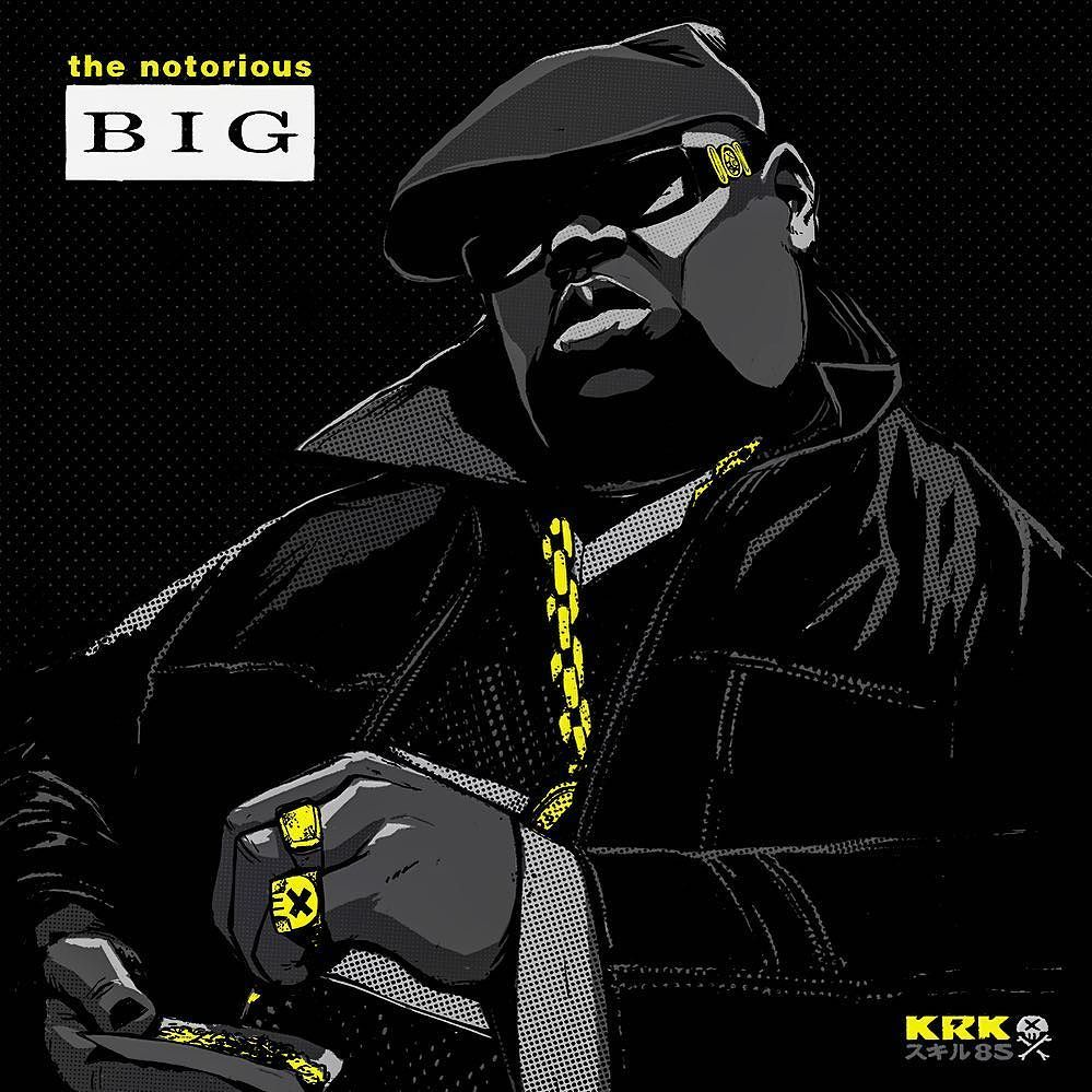 The Notorious B.I.G. Art