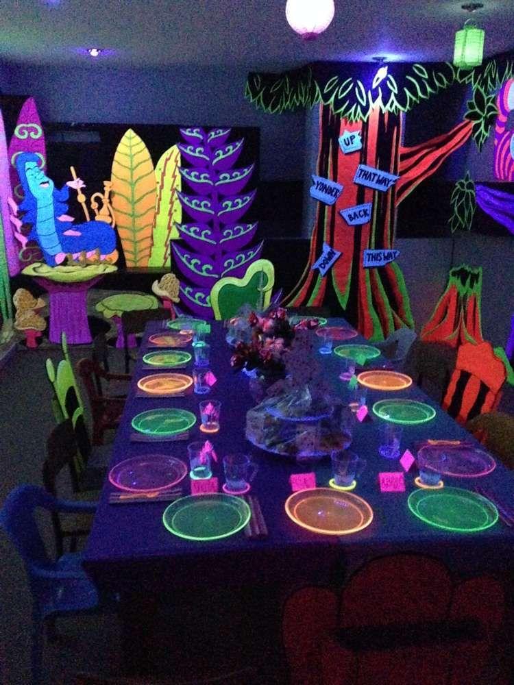 Alice in Wonderland Birthday Party Ideas | Pinterest