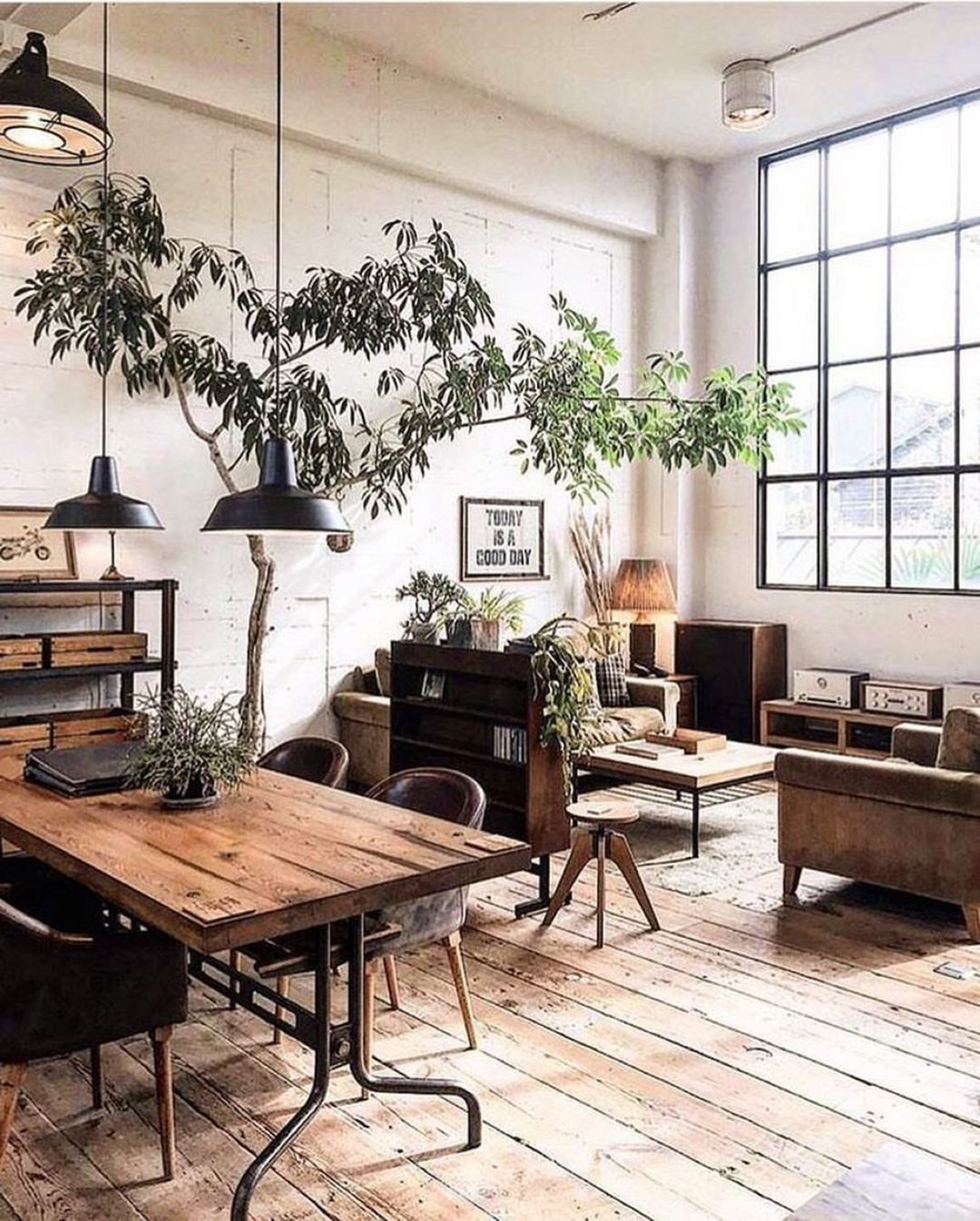 Photo of 17+ New Ideas Industrial Rustic Living Room Ideas