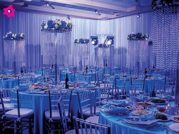 boda con cristales