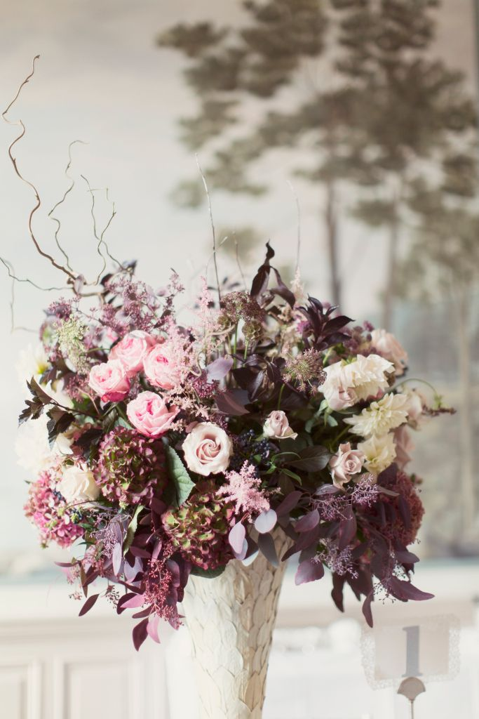 Planet Flowers, The Balmoral Hotel Wedding, Guest Tables