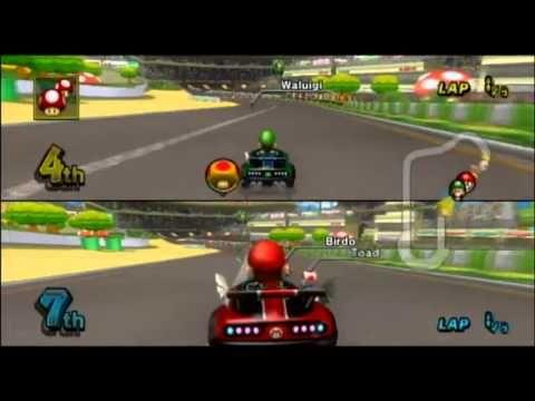 Mario Kart Wii Gameplay Luigi Circuit Mario Kart Wii Mario