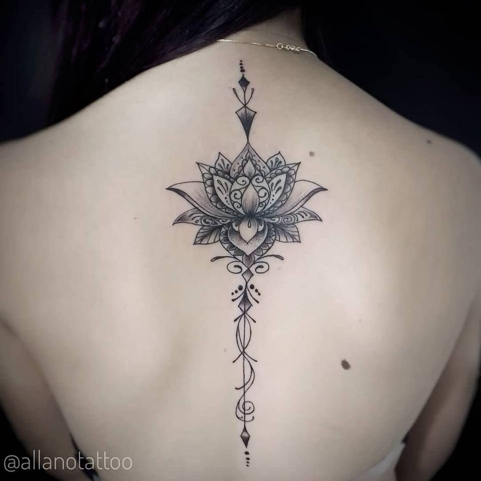 Pin De Jada Thomas Em Tattoos Design De Tatuagem De Lotus Tatuagem De Unalome Tatuagem