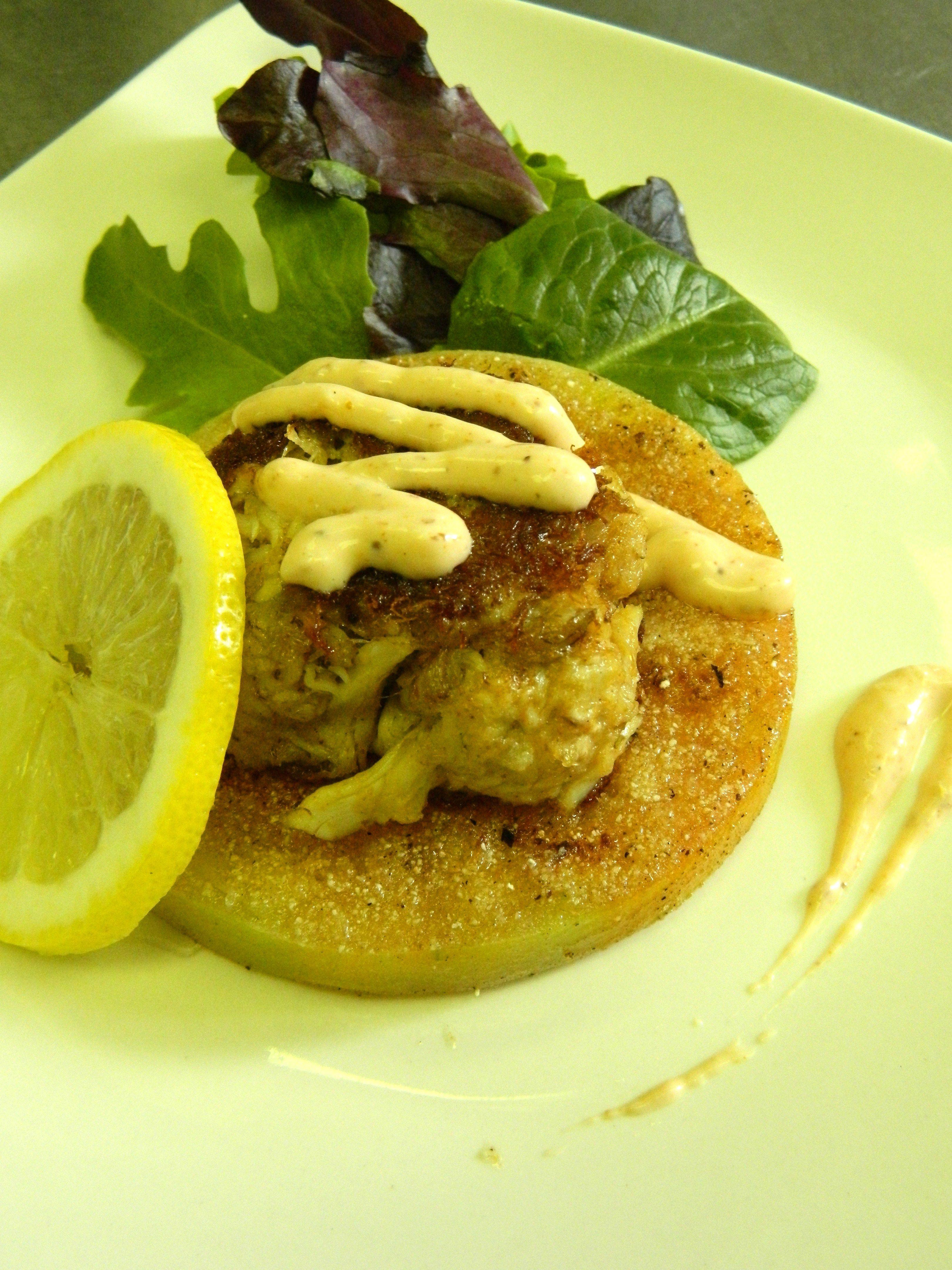 Petite crab cakes recipe