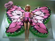 Fairy pull apart cake