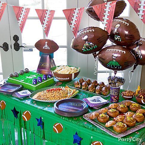 Party City Super Bowl Decorations
