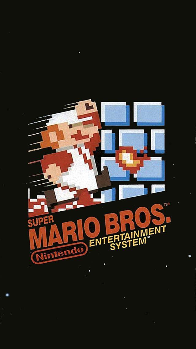 Super Mario Iphone Wallpaper Super Mario Bros Mario Bros