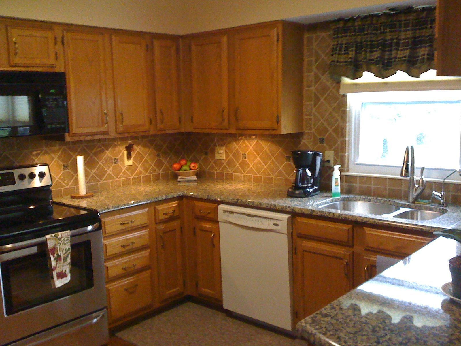 Granite Countertop Ideas And Backsplash Images Design Inspiration