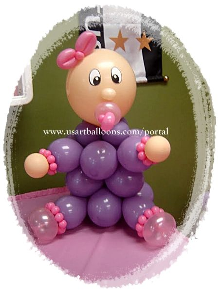 Baby Shower Balloon Art | baby-balloon.jpg