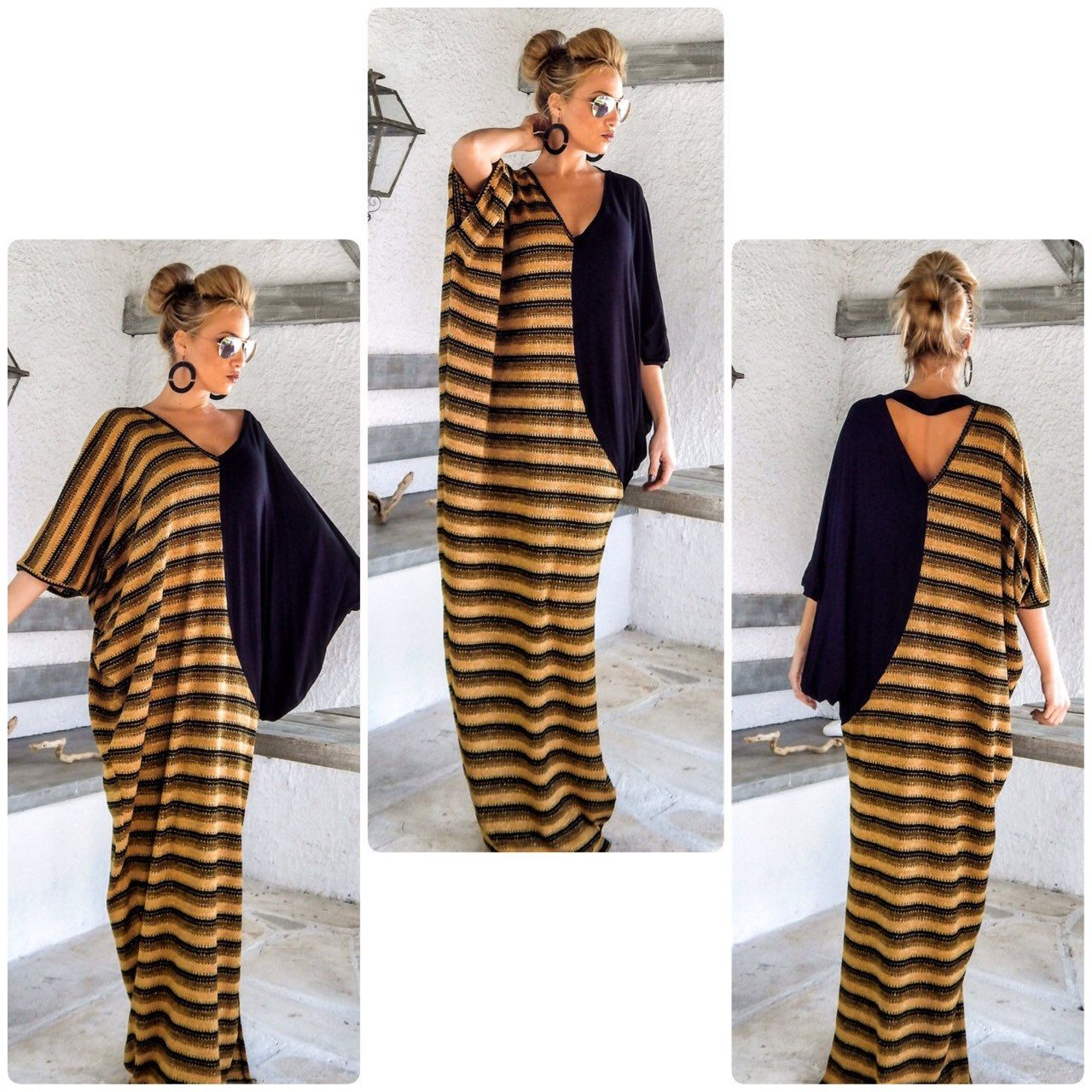 Newwarm winter maxi dress abaya by synthiacouture Летняя