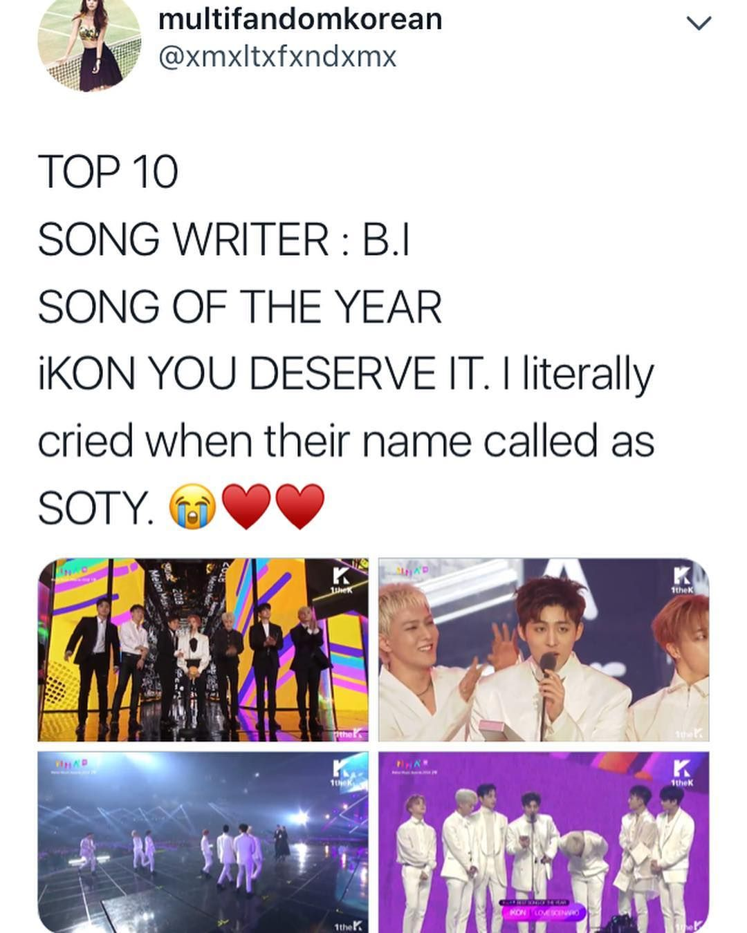 They work so hard they deserve this so much Ikon, Hanbin