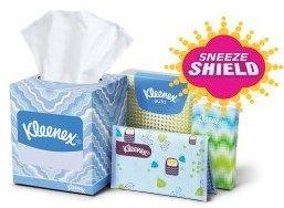 Free Sample of Kleenex Sneeze Shield for Costco Members