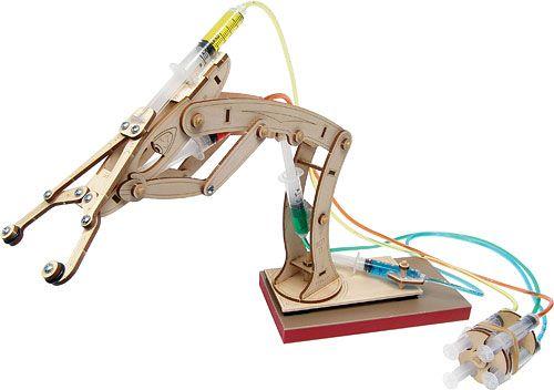 Hydraulic Arm Science Fair Projects : Isfeldtechdocs robotics syringe robot design
