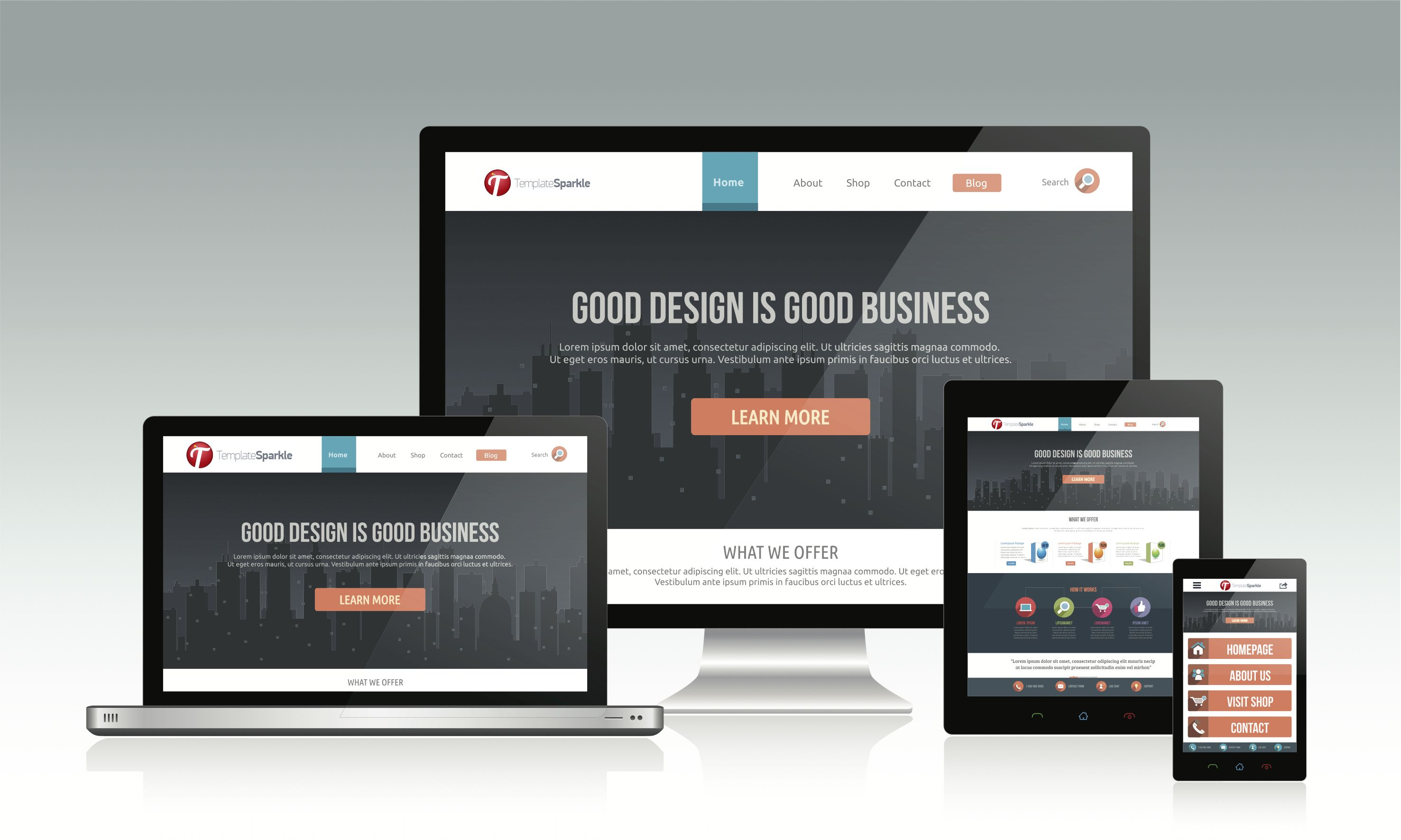 Exclusive Html 5 Css 3 Responsive Web Design Templates Coming Very