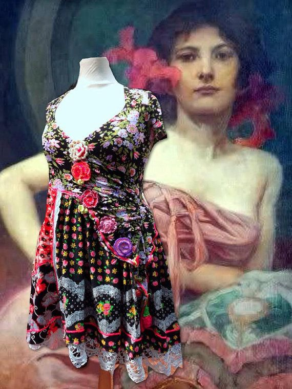 Gorgeous Ibiza Hippie Dress MADE FOR COLE