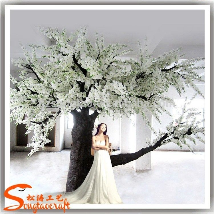 For Sale Fake Indoor Outdoor Cherry Blossom Tree For Weddings Life Size Make Artificial Trees Pho Artificial Cherry Blossom Tree Cherry Blossom Tree Photo Tree