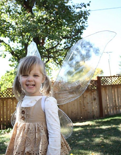 Homemade Fairy wings! For the love of kids Pinterest Fairy