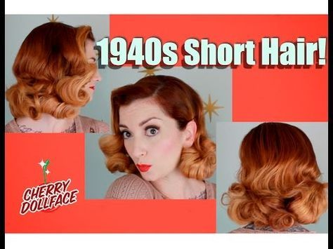 Easy 1940 S Hairstyles For Short Hair - Best Hairstyles ...