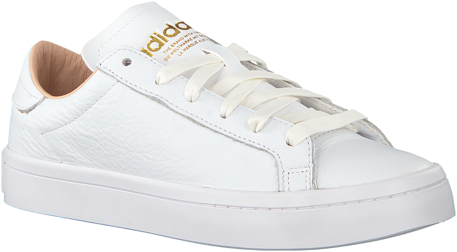 free shipping 8fcd1 59ecb Witte Adidas Sneakers COURT VANTAGE DAMES