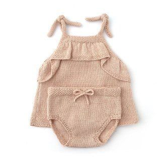Knitted Diaper Cover – Alba Summer Set Pattern & Tutorial