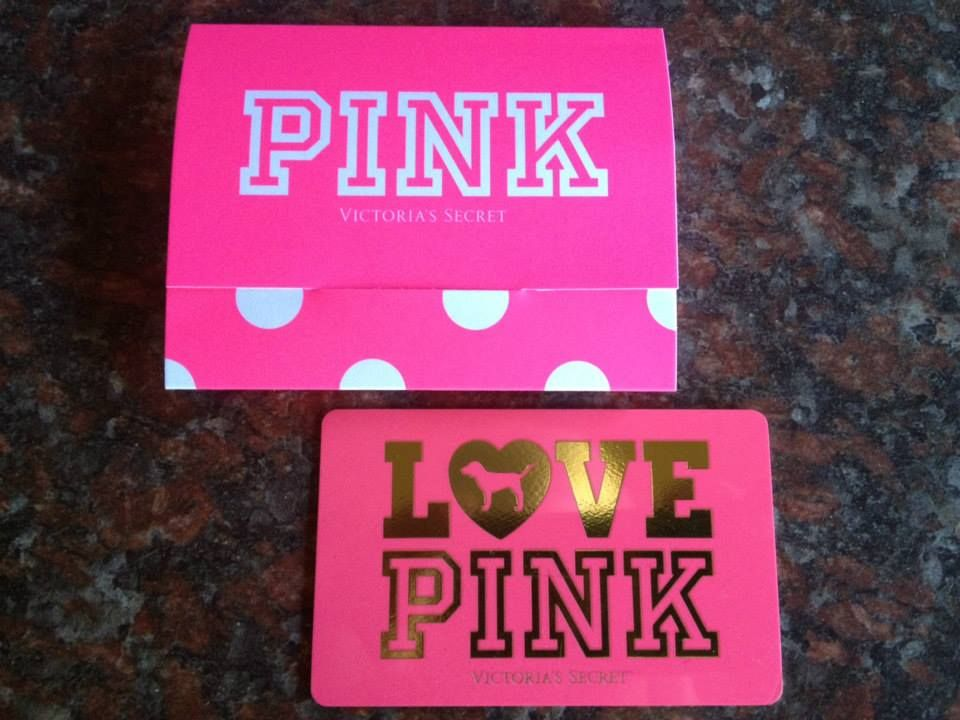 Victorias Secret PINK Giftcard Yes Please