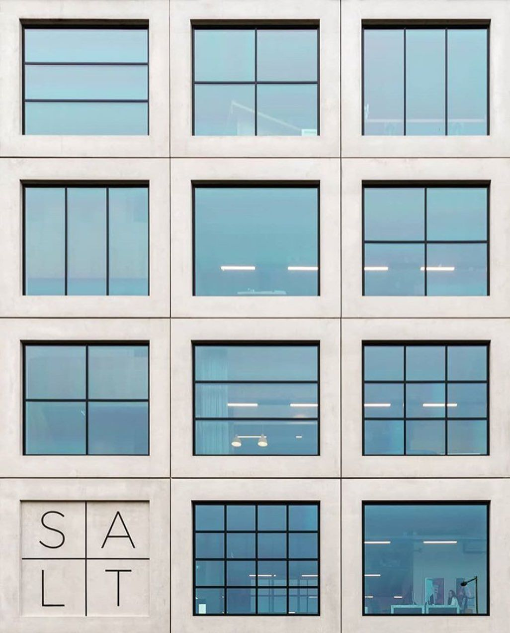 Great 📸 from @marcorama of the SALT building in Amsterdam #facade