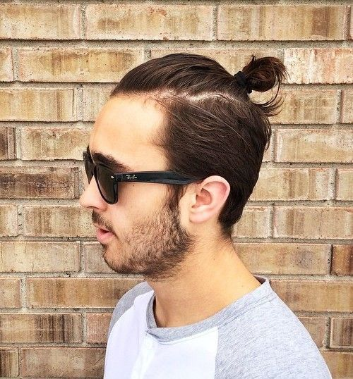 Cool Short Hairstyles And Haircuts For Boys And Men - Mens hairstyle top knot