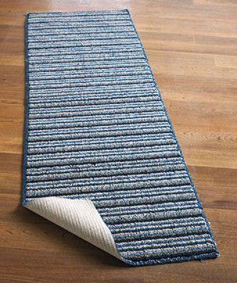 "Brown or Blue 120"" Rug Runner Extra Long Nonslip Floor Hallway Home Carpet   eBay"