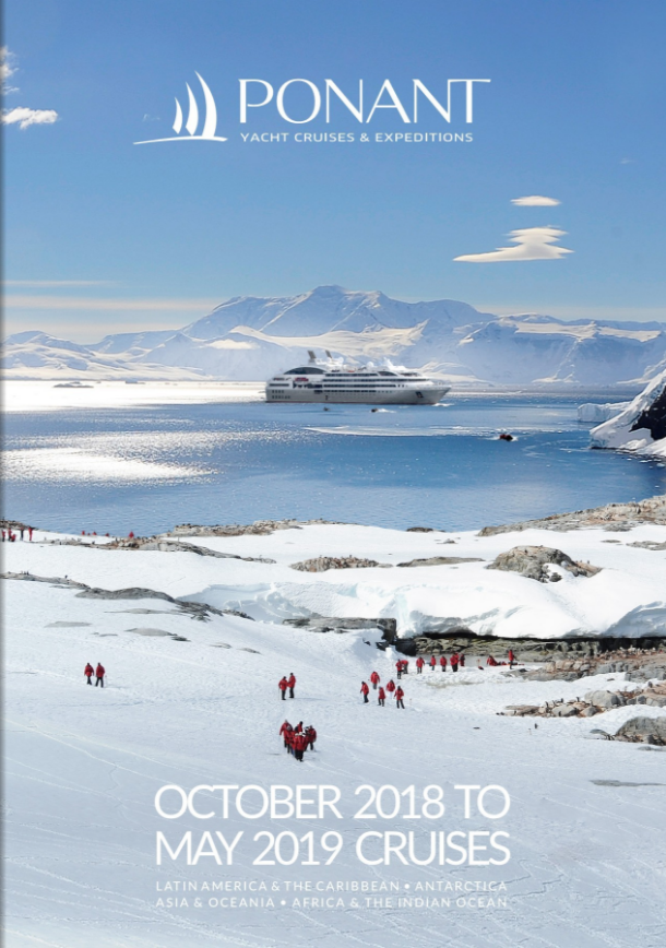 Ponant October 2018 to May 2019 Cruises brochure | Cruises and