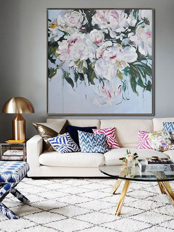 Abstract flower oil painting lx39a canvases oil and originals oh the beautiful interiors that melbourne interior designer chelsea hing creates if this is wh solutioingenieria Images